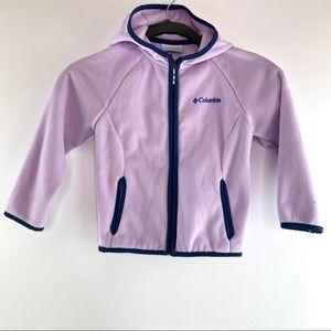 Columbia Girl's Fleece ZIP Up Jacket